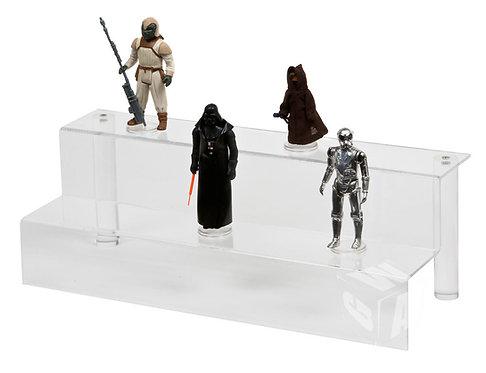 Acrylic Display Steps - Medium (2 Steps) IKEA DELTOF