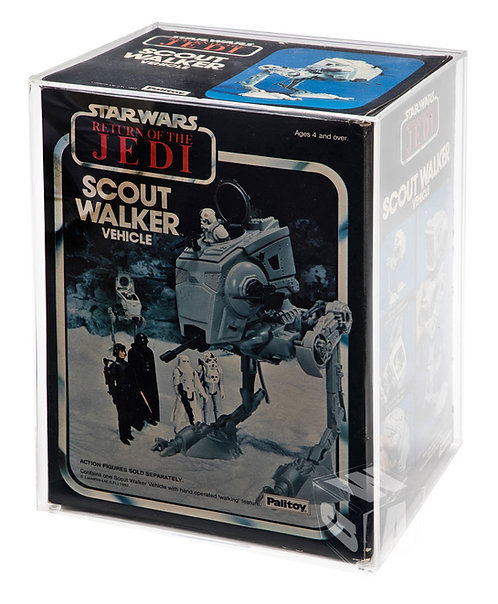 *** PREORDER *** Kenner & Palitoy ESB & ROTJ AT-ST Boxed Vehicle Display Case