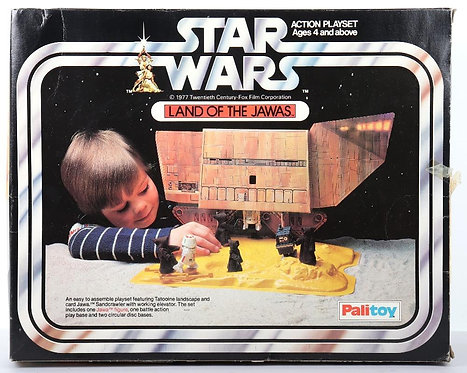 *** PREORDER *** Palitoy SW Land of the Jawas Playset Acrylic Display Case