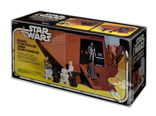 Star Wars & ESB Sandcrawler MIB Acrylic Display Case
