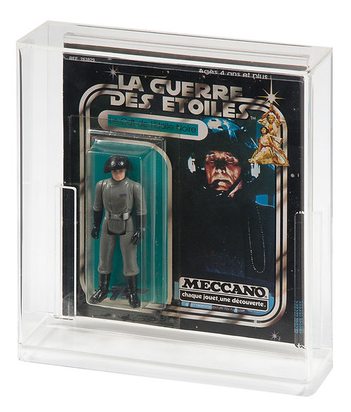 Meccano (Square Back) Carded Action Figure Display Case