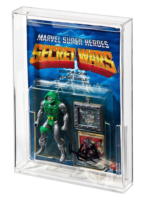 Marvel Super Heroes Secret Wars Acrylic Display Case