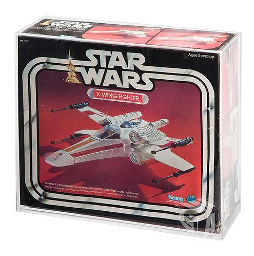 Star Wars ESB & ROTJ X-Wing Boxed Vehicle Display Case