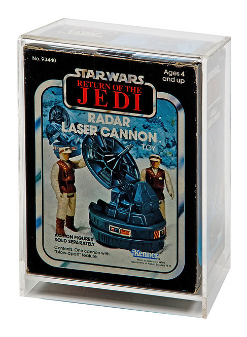 ESB & ROTJ Mini Rig (No Flap) Vehicle Display Case