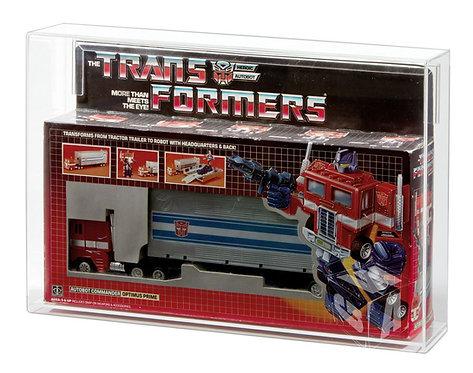 Hasbro Transformers Optimus Prime MIB Acrylic Display Case