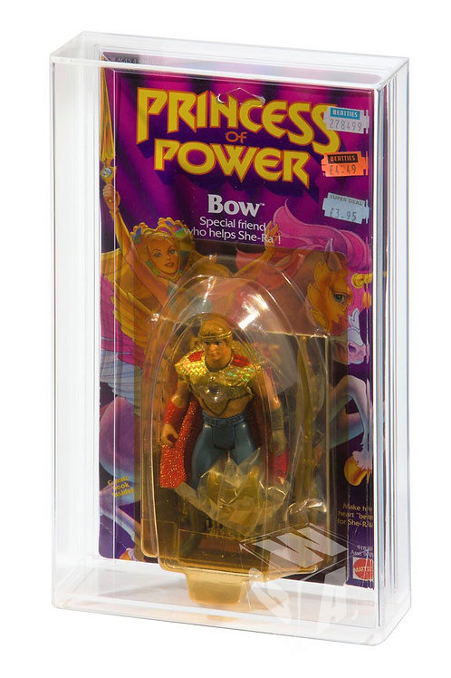 Princess of Power Carded Figure Display Case