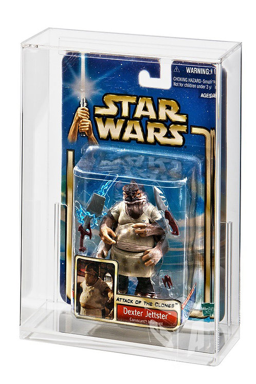 Carded Action Figure Display Case (SUPER Deep Bubble Depth)