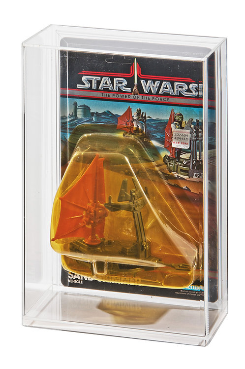 POTF Body-Rig Carded Acrylic Display Case