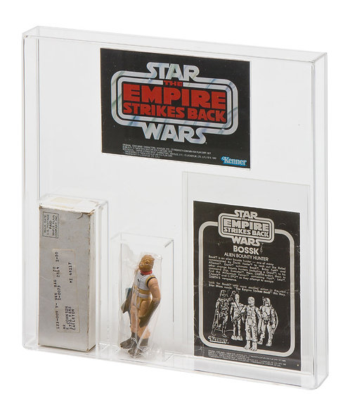 ESB Bossk or ESB Survival Kit Mailer Display Case