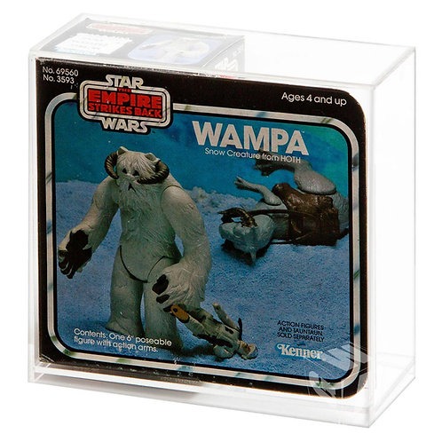 Palitoy/Kenner ESB Wampa Creature Boxed Display Case