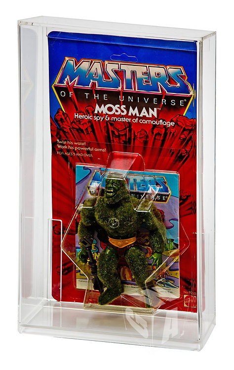 Masters of the Universe Carded Action Figure Display Case