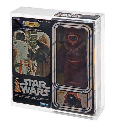 "12"" Boxed Large Action Figure Doll Display Case - Jawa"