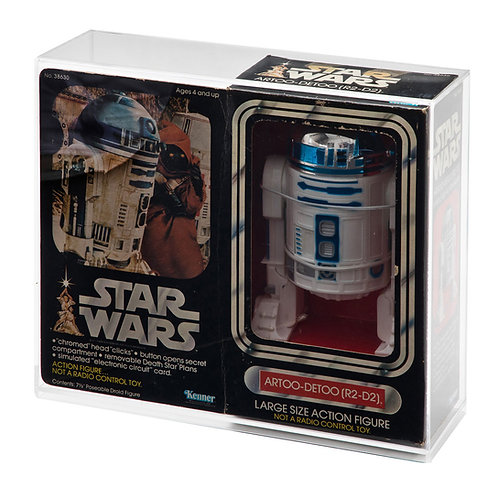 """12"""" Boxed Large Action Figure Doll Display Case - R2-D2"""