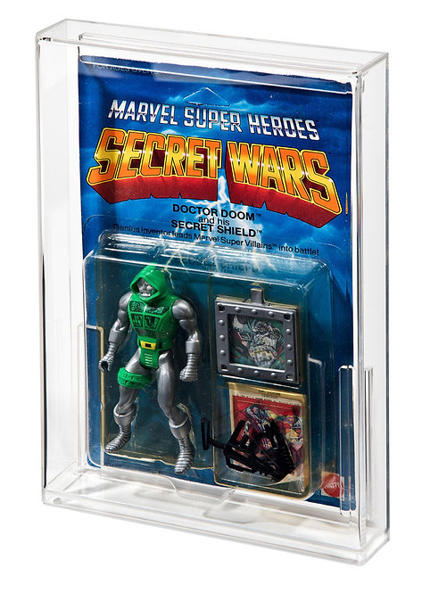 Marvel Super Heroes Secret Wars Acrylic Display Case