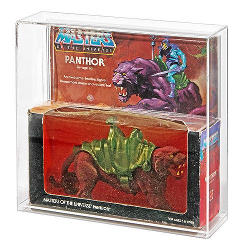 MOTU Battle Cat or Panthor MIB Acrylic Display Case