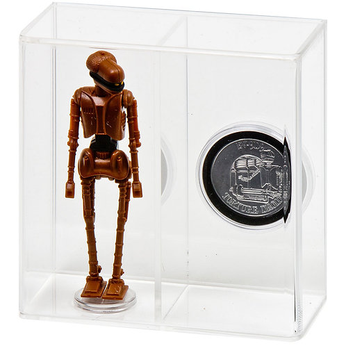 Loose Action Figure With Coin Display Case - Large 3 3/4""