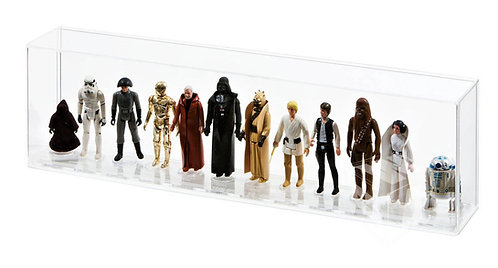 Loose Action Figure (1st 12 Synergy Stand) Acrylic Display Case