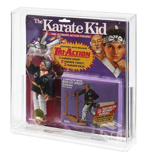 REMCO (Purple Card) The Karate Kid MOC Acrylic Display Case