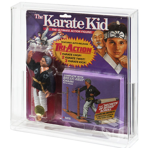 REMCO (Purple Card) The Karate Kid MOC Acrylic Display Case