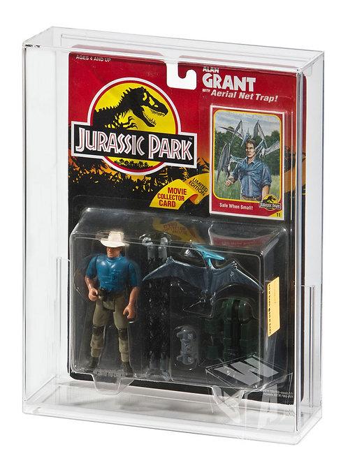 Kenner Jurassic Park Humans (Series 1) MOC Acrylic Display Case