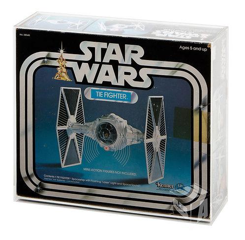 Star Wars ESB ROTJ Tie Fighter Boxed Display Case