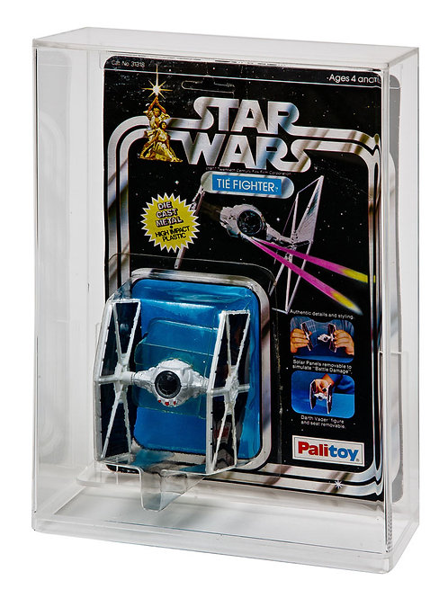 SW & ESB Carded Diecast Vehicle Display Case (Deep Bubble)