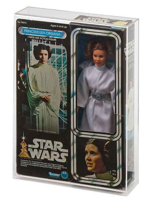"""SW & ESB - 12"""" Boxed Large Action Figure Doll Display Case (Standard MIB)"""