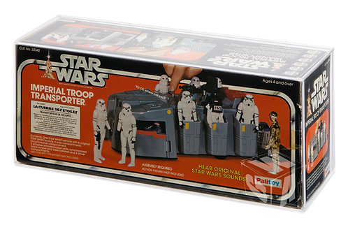 Kenner/Palitoy SW ESB Imperial Troop Transport Acrylic Display Case