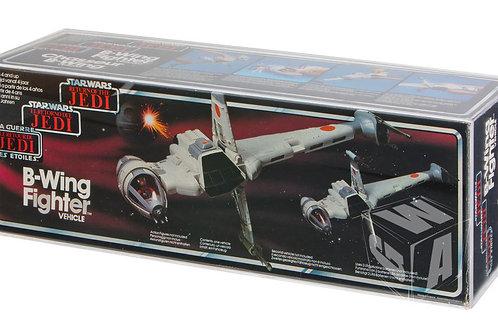 Tri-logo ROTJ B-Wing Fighter Acrylic Display Case