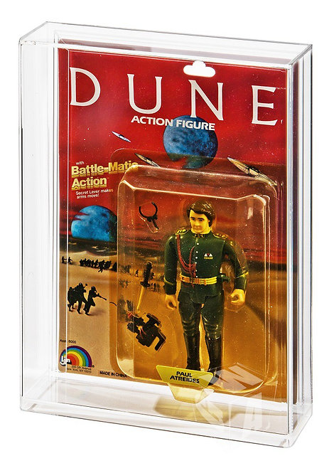 LJN DUNE Carded Action Figure Display Case