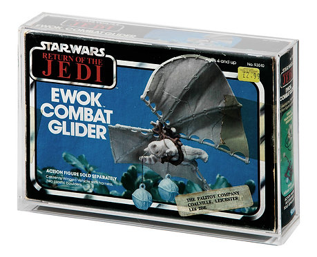 ROTJ Ewok Combat Glider MIB Display Case