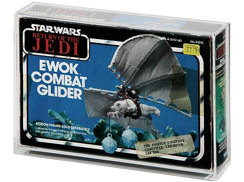 ROTJ Ewok Combat Glider MIB Display Case