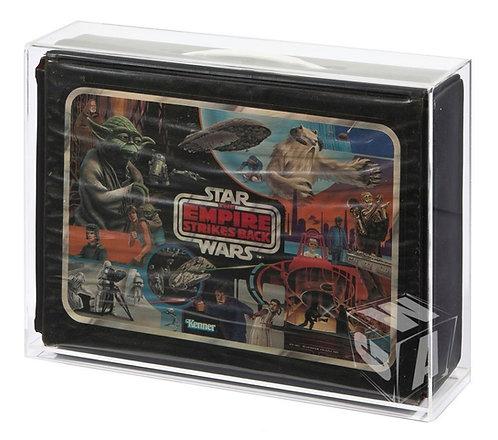 *** PREORDER *** Kenner SW ESB ROTJ Vinyl Carry Case Acrylic Display Case