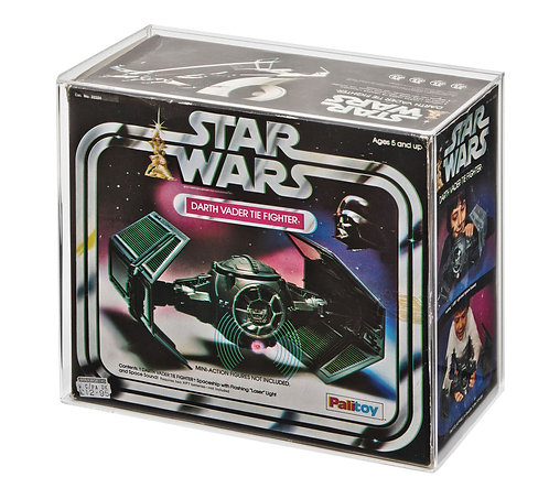 Palitoy/Kenner Darth Vader's Tie Fighter Acrylic Display Case