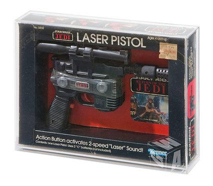Kenner ROTJ Han Solo Laser Pistol Acrylic Display Case