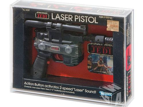 Kenner ESB & ROTJ Han Solo Laser Pistol Acrylic Display Case