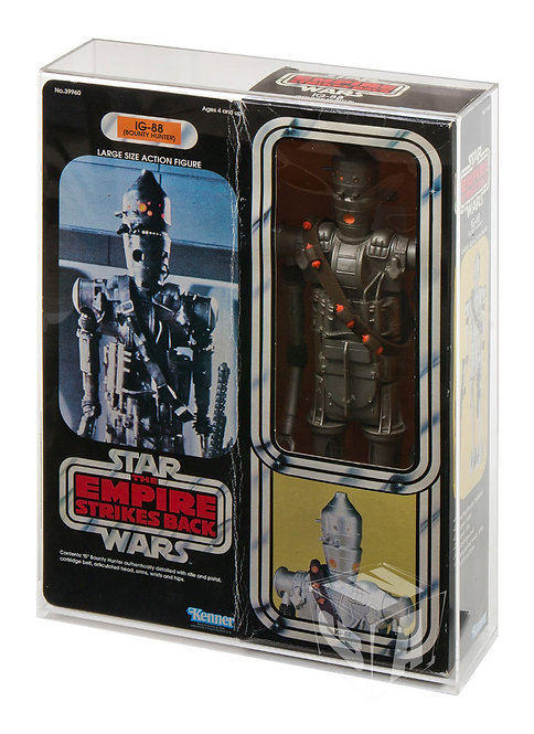 """SW & ESB - 15"""" Boxed Large Action Figure Doll Display Case"""