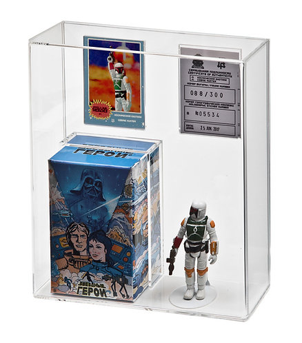 RETRO ROBOT by GNZ Custom Figure Display Case