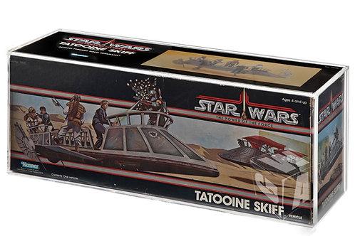 POTF Tatooine Skiff MIB Acrylic Display Case