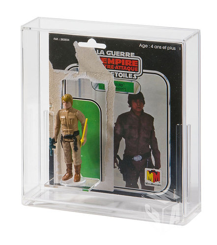 Premium Bespoke Loose Cardback and Loose Figure Display Case (Meccano)
