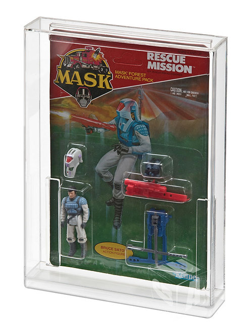 M.A.S.K Carded Action Figure Display Case