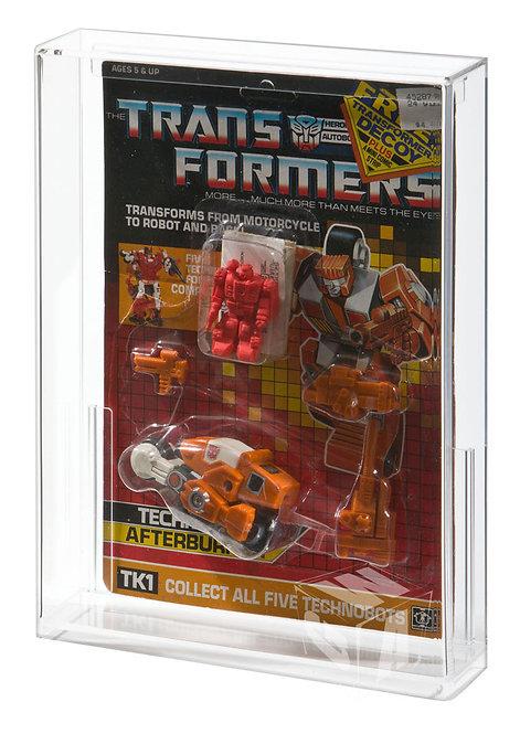 Hasbro Transformers G1 Technobot MOC Acrylic Display Case