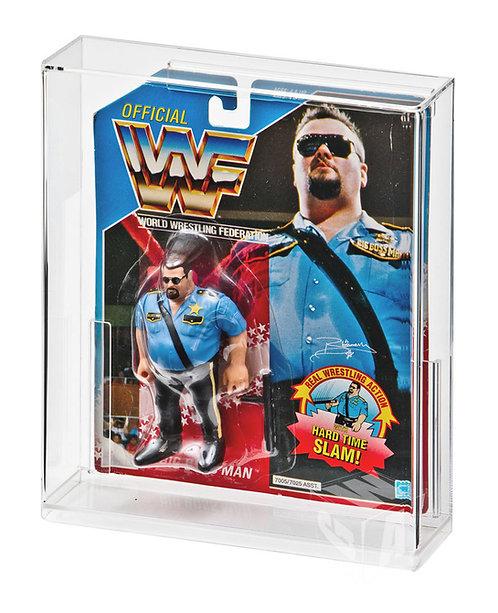 Hasbro WWF Carded Figure Acrylic Display Case
