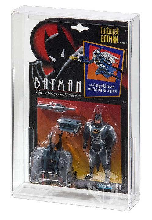 Kenner Batman (The Animated Series) & Terminator Acrylic Display Case