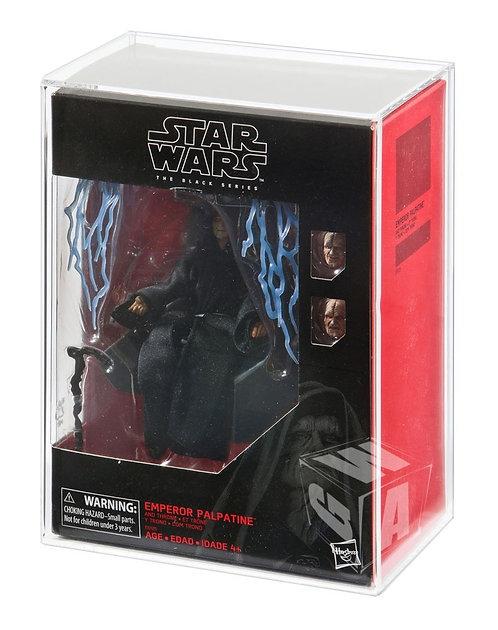 *** PREORDER *** Hasbro Black Series Deluxe Emperor & Throne Acrylic Display Cas