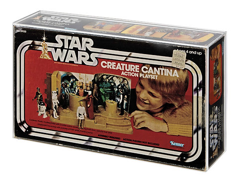 SW Kenner Creature Cantina Display Case