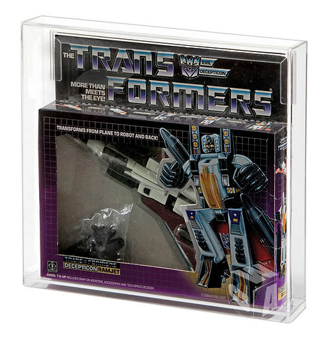 Hasbro Transformers G1 Jet MIB Acrylic Display Case