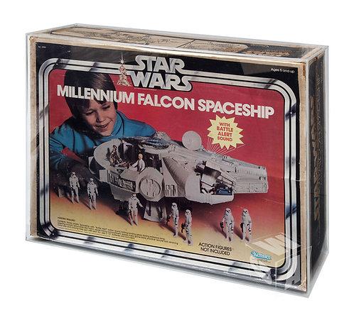 *** PREORDER ***KENNER Star Wars ESB ROTJ Millennium Falcon Acrylic Display Case