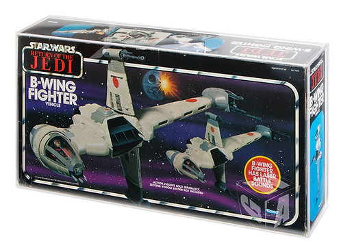 Kenner ROTJ B-Wing Fighter Acrylic Display Case (4mm)