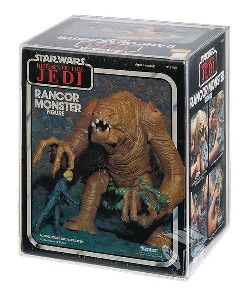 ROTJ Kenner Rancor Monster Acrylic Display Case